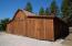 Wonderful garage/shop/barn with stalls and 220 wiring!