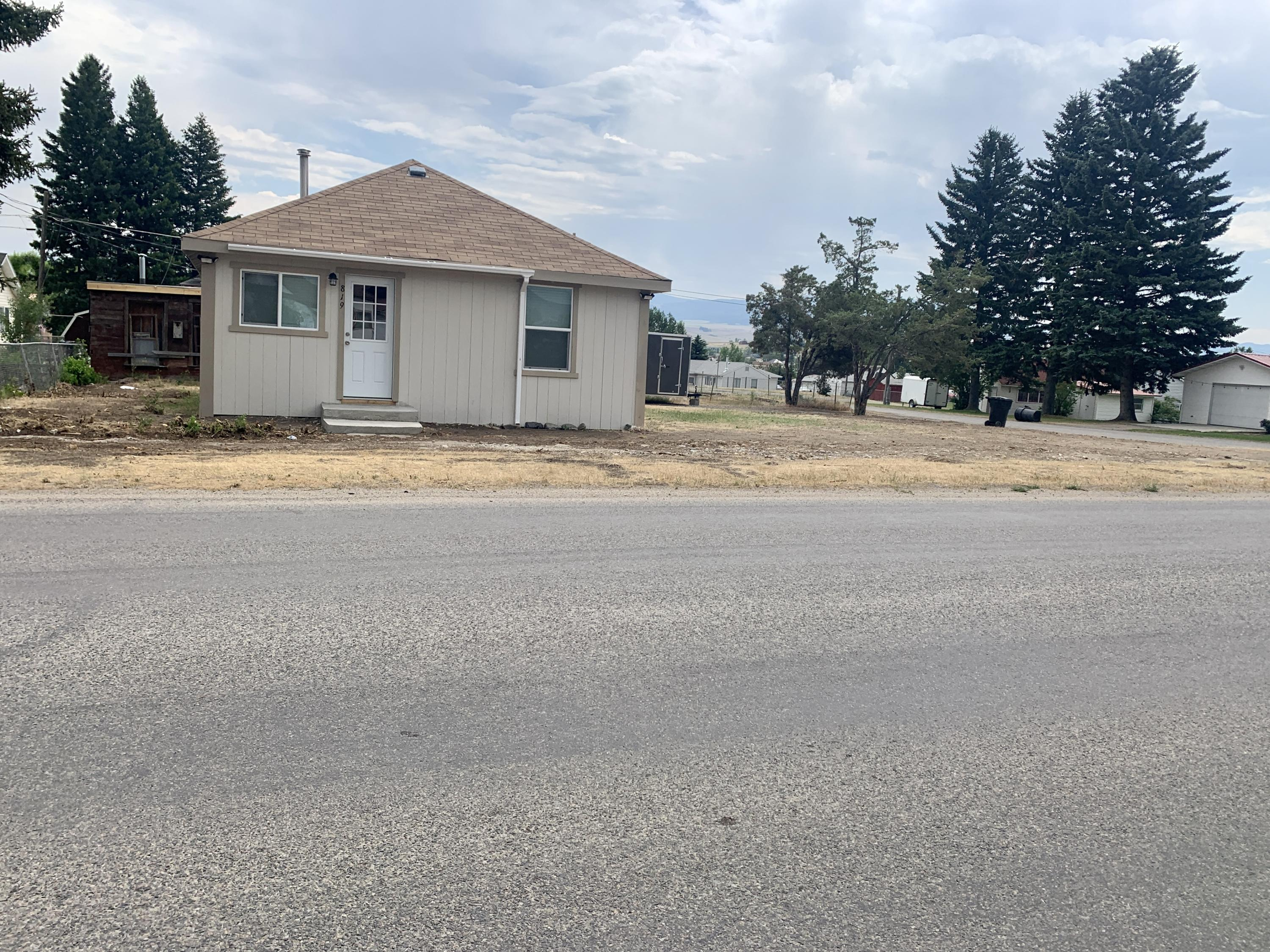 A wonderful newly updated home with 2 bedrooms and a full bath with a tiled shower. Luxury vinyl plank floors throughout the house with a spacious kitchen. Located on a corner lot.  Brand new water proofing on the siding. Come make this home yours! Call Tana Bignell at 406-949-3905 or your real estate professional.