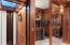 Commercial grade Elevator served into glass atrium and Bar area.