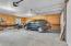 Garage with workshop space