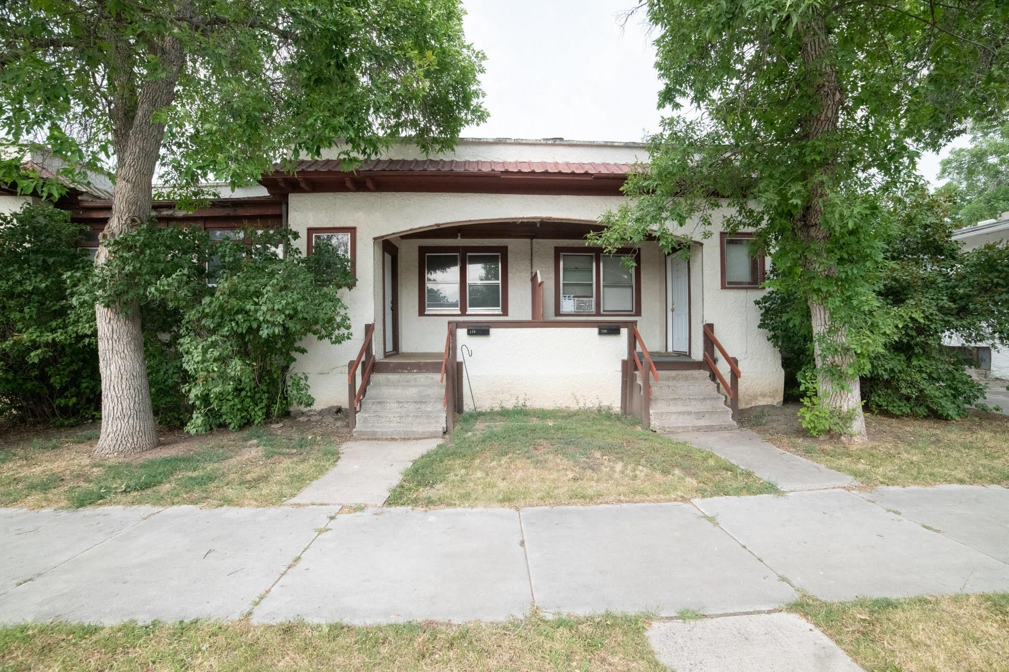 Multi family property. 3 units currently rented. 3 units are 2 bedroom, 1 bathroom. 1 unit is 1 bedroom, 1 bathroom. Each unit has basement with washer and dryer hook ups. Each unit is separately metered gas, electric & water. Selling AS IS seller will make no repairs. call your real estate professional today!