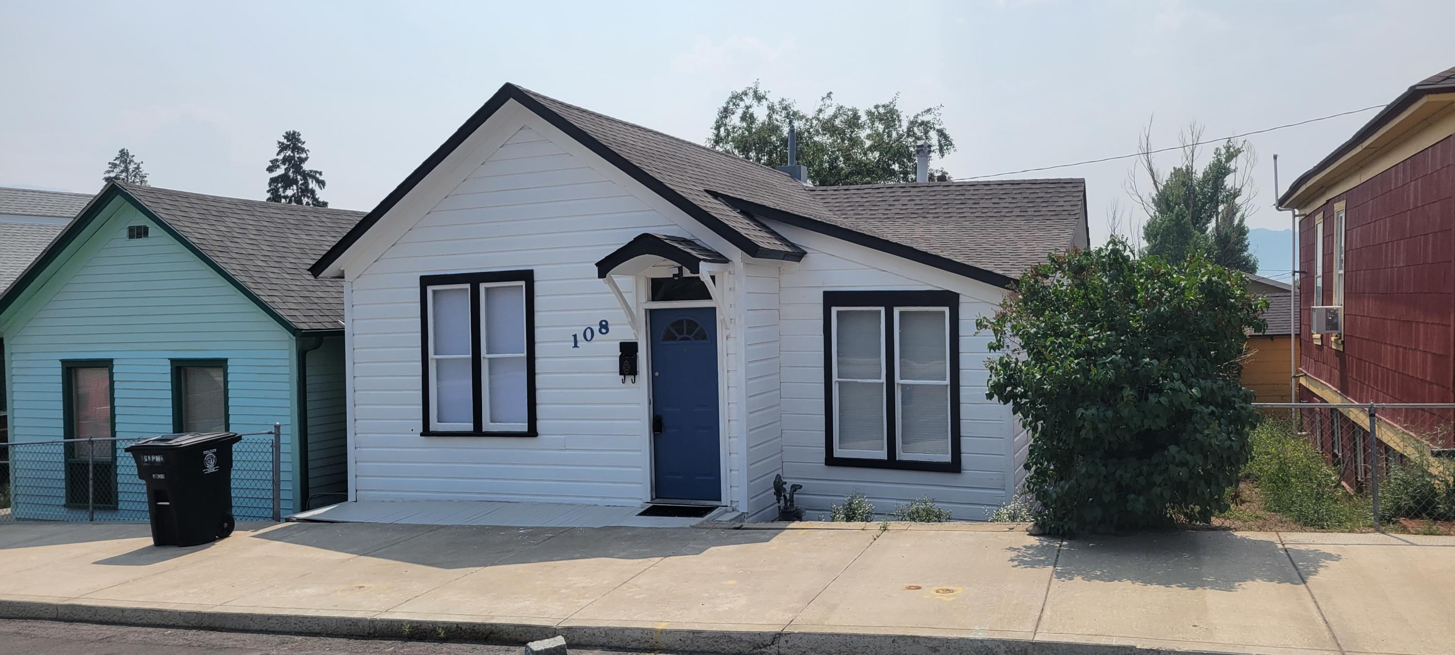 Cutest home in Butte! All of the hard work has been done to restore this 1900 gem. This is a move-in ready 2-bed, 1 bath with new roof, major foundation work completed, new furnace, updated kitchen and bathroom, fresh paint, and too much more to list. This home's central location provides quick access to many different parts of Butte. Just a few minutes to Uptown Butte, the university, the hospital, Interstate 90, the Continental Divide Trail, and more.Separate laundry room. All appliances included! Peaceful back deck and easy maintenance yard provide for easy living. Don't miss out on this beautiful home! Call Robert Medof at 406-203-7621 or your real estate professional.