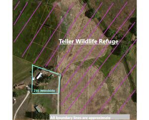Property Borders Teller Wildlife Refuge