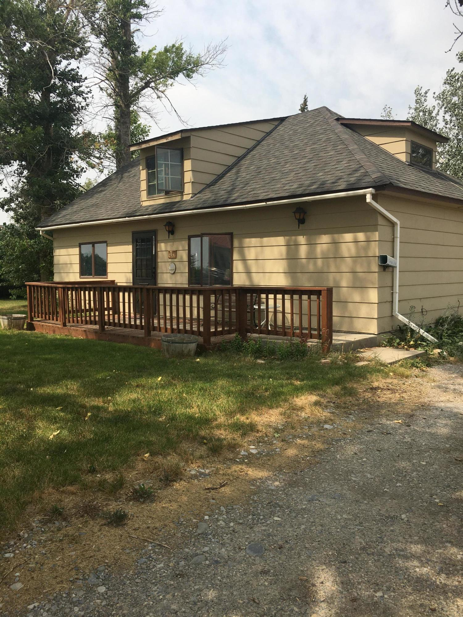 An inviting and cozy feel is an added bonus in this 4  bedroom 2 bath home.  Plenty of parking and a detached oversized 2 car garage with a bonus room.    Mature trees surround the property that is located near Lake Francis with year around recreation.   This property is waiting for a Buyer and is PRICED TO SELL!