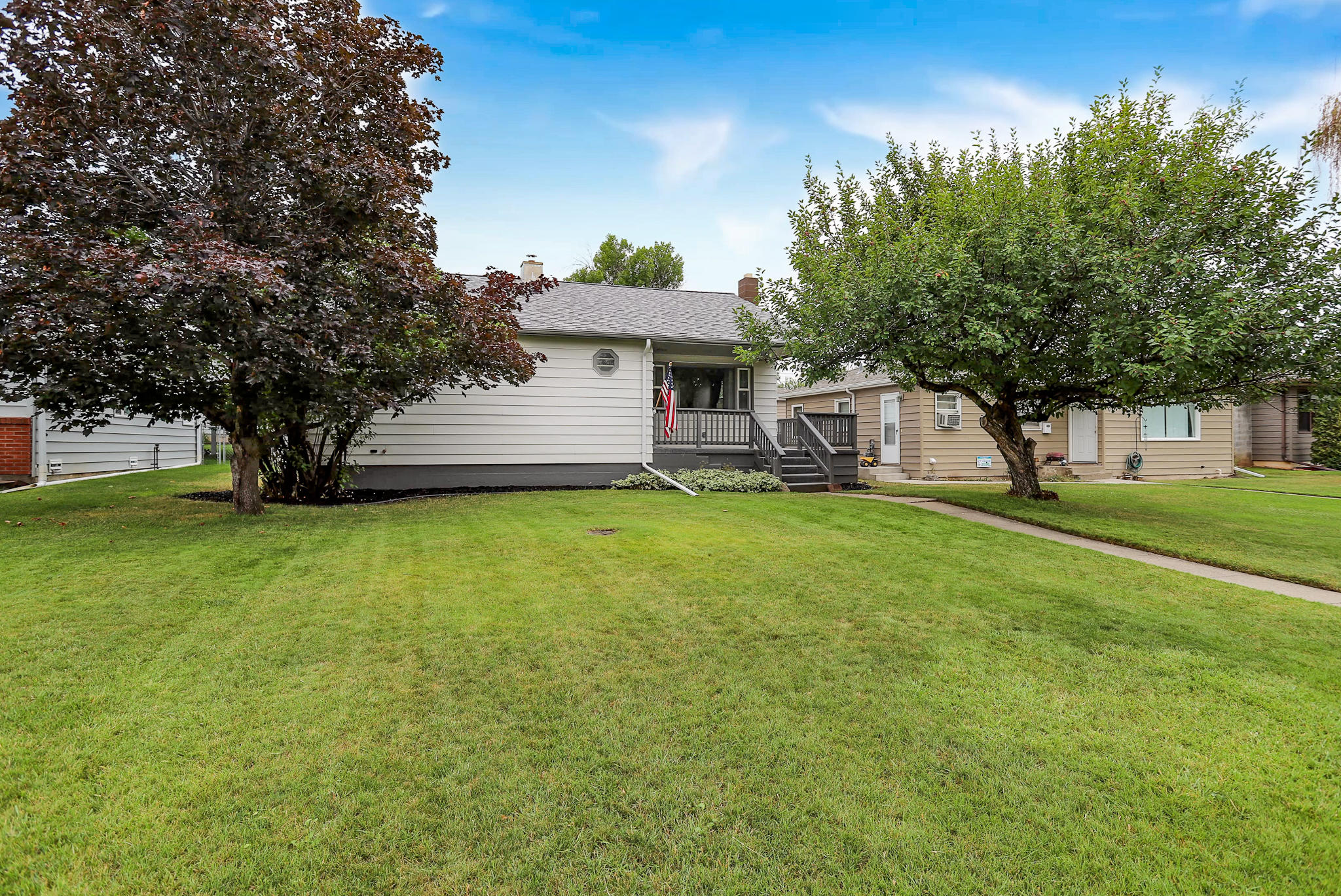 Updated, warm, east end home in a great neighborhood next to a park with a public pool. Beautiful hardwood floors, three bedrooms on main floor. New hot water heater this year. Listed by Joseph Lee