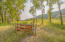 Pass through gate from common area to neighbors ranch to access the Clark Fork River