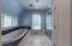 Upstairs oversized Bathroom