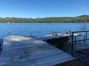 Dock on Flathead Lake's Indian Bay