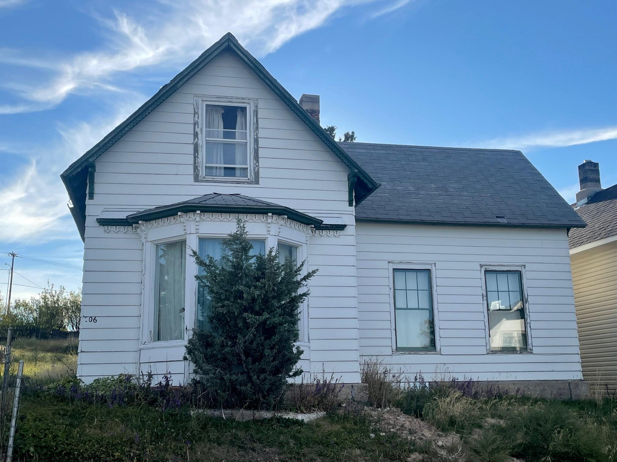 This two bedroom, one bath home was built in 1908 and has the historical charm of the homes of the turn of the century.  Just to the north of the property is the historical landmark known as the Castle in White Sulphur Springs. This property has a private well used for lawn irrigation. Enjoy all the recreation that the area has to offer, hunting, fishing, skiing, trail riding, hiking, and so much more.  The local hot springs, eateries, and brewery are attractions you won't want to miss.  White Sulphur Springs has all of the modern conveniences including a hospital, banks, grocery and retail stores.  This home is cozy and in a wonderful location.