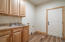 Laundry/Mudroom from garage