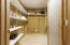 Large pantry on lower level.