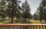 View from the deck. Looking over the O'Brien Creek drainage.