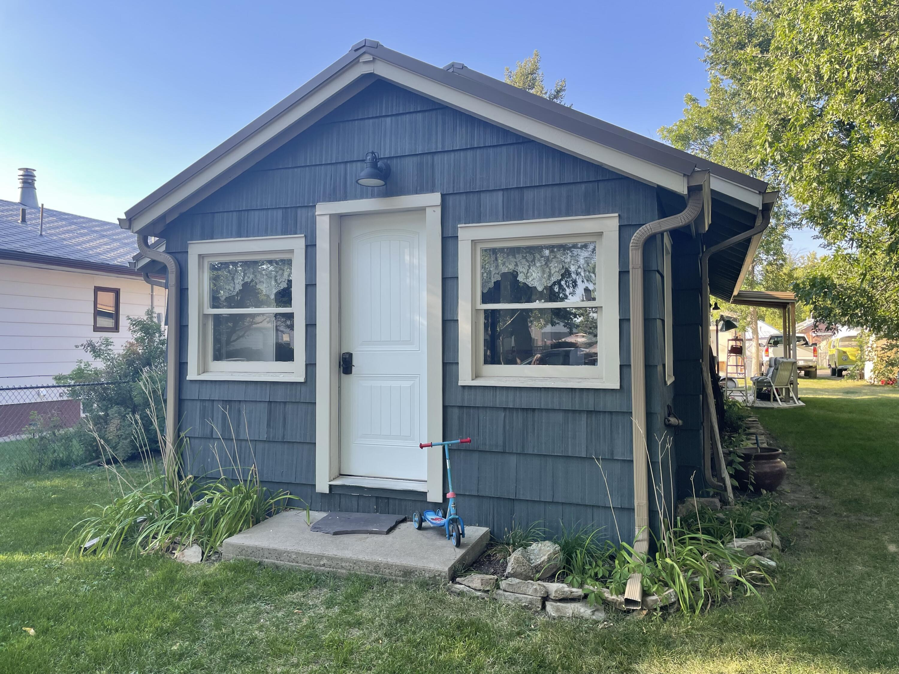 Adorably remodeled 3 bed 1 bath home is a central location.  This home has an open living/dining area with new floors, paint and fixtures.  Two of the bedrooms are on the main level and one is down.Beautiful 2 car, insulated, heated garage.