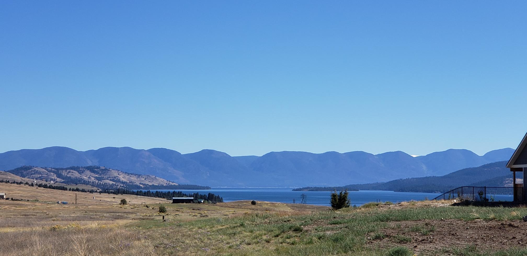 Beautiful Flathead Lake views