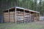 Wood shed.