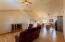 Step inside and check out this vaulted great room!