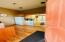 Rear entrance into kitchenette/break room.