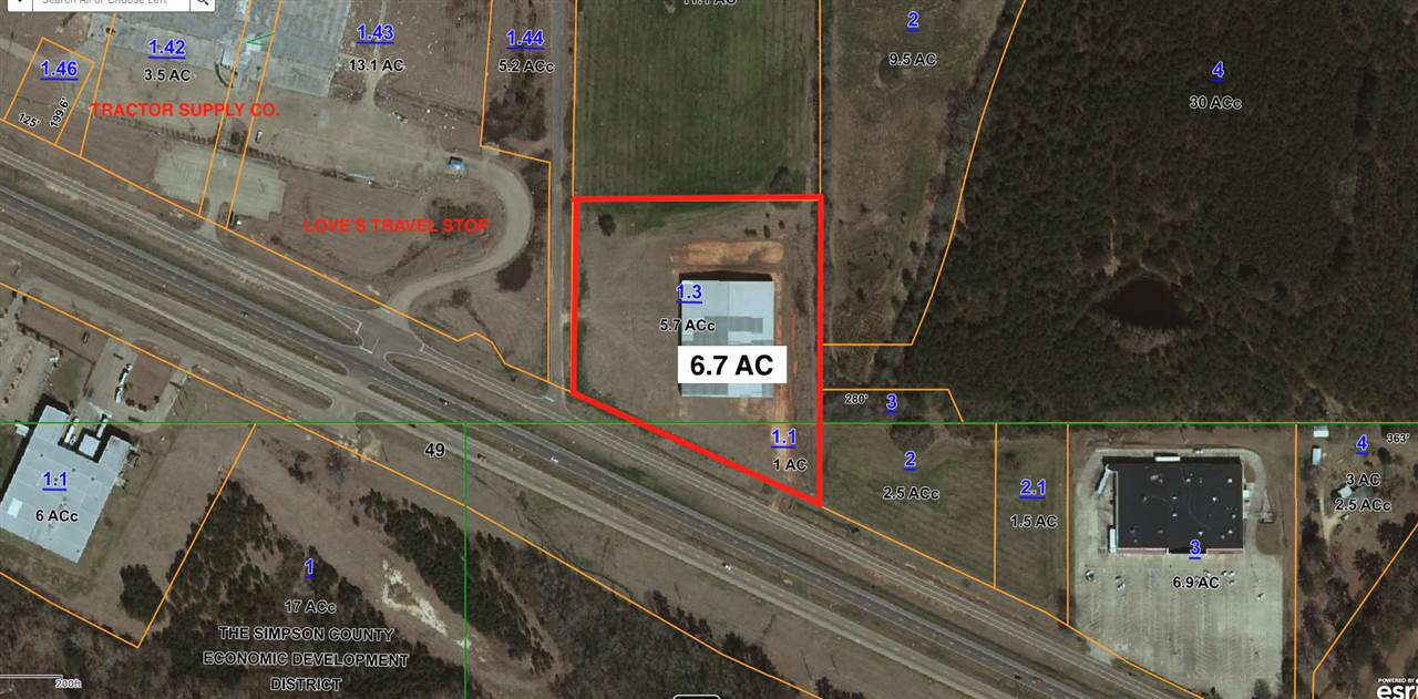 Simpson Highway 49, Magee, MS 39111