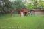 Back yard/play area