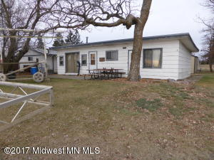 Home on level lot on EBL