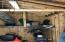 New Shed interior