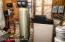 New pressure tank, water softener and iron tank.