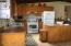 Kitchen features newer appliances