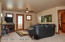 upper Level Family Room with Deck access