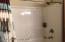Tub & Shower in Main Floor Bath