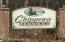 Chippewa Island entrance