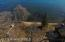 Aeriel view of lakeshore