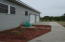Garage and new concrete