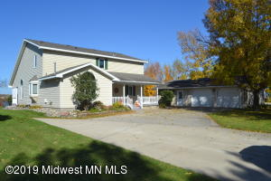 First time offered Devils Lake Home located in beautiful Otter Tail County is graced by wonderful views of the area and Devils Lake! Built in 1995 with quality craftsmanship this three bedroom home allows for spacious living all located on a dead end, paved road. Three bedrooms, two bath, vaulted ceiling, open concept, large kitchen, main floor laundry, composite deck and porch, hard-sandy water front, concrete driveway, and workshop. The property is located just 63 miles from the Fargo/Moorhead area with easy access to HWY 10.