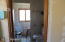 8' x 6 'upstairs bathroom full bath with washer and dryer hookups