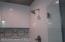 New Oversized Tiled / Glass Door Shower