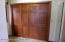 There is a ton of storage in hallway closets, all have maple doors, beautiful.
