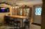 Basement Bar & Walk out door