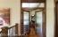 french doors into office/bedroom