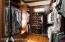 custom walk in closet