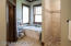 spa-like private master bathroom with in floor heat!