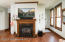 2nd gas fireplace in home