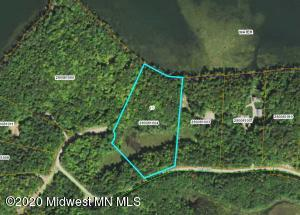 Outline of the property. 7.4 acres.
