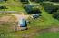 Aerial of hobby farm