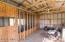 Inside garden shed/chicken coop