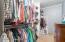 Walk in closet - Master