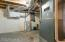 Air exchanger, furnace and hot water heater