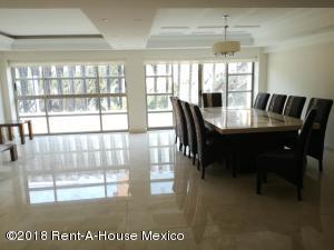 Departamento En Rentaen Miguel Hidalgo, Polanco Reforma, Mexico, MX RAH: 18-102