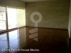 Departamento En Rentaen Huixquilucan, Bosque Real, Mexico, MX RAH: 18-110