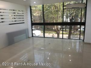 Oficina En Rentaen Miguel Hidalgo, Anzures, Mexico, MX RAH: 18-173
