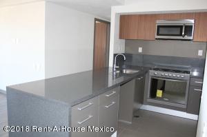 Departamento En Rentaen Alvaro Obregón, Santa Fe, Mexico, MX RAH: 18-197